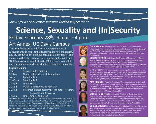 Science_Sexuality_and_(In)Security_Feb 28_Poster