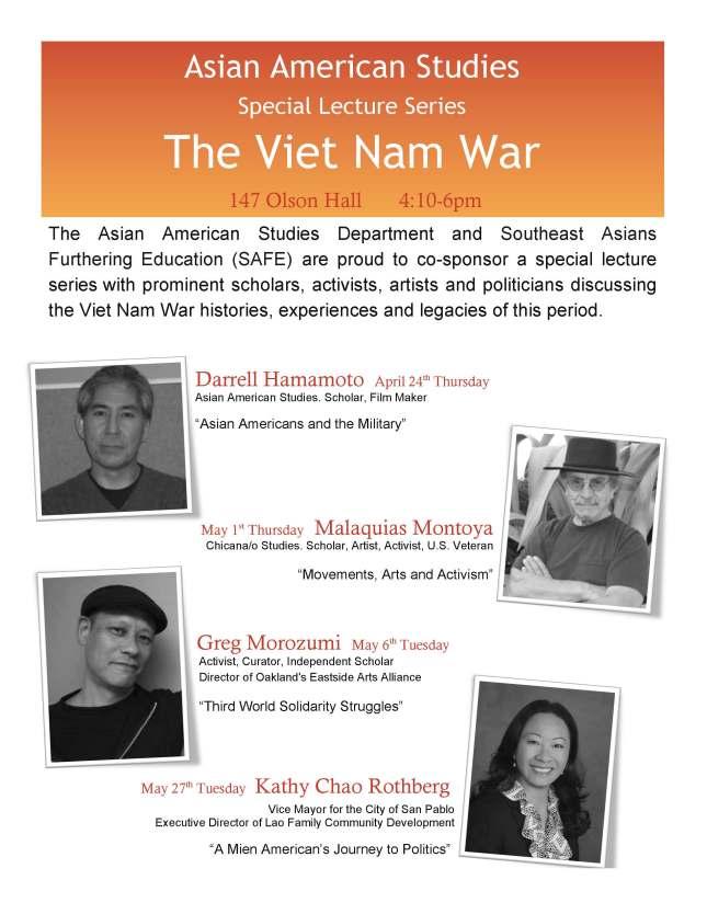 Viet Nam War Lecture Flyer 2014