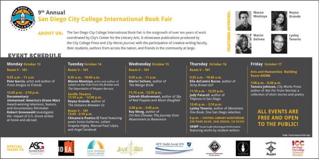 SD City college intl book fair
