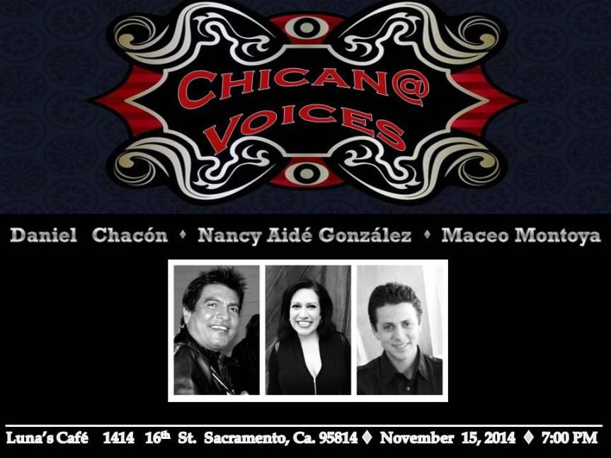 Chican@ Voices Chacon Gonzalez Montoya